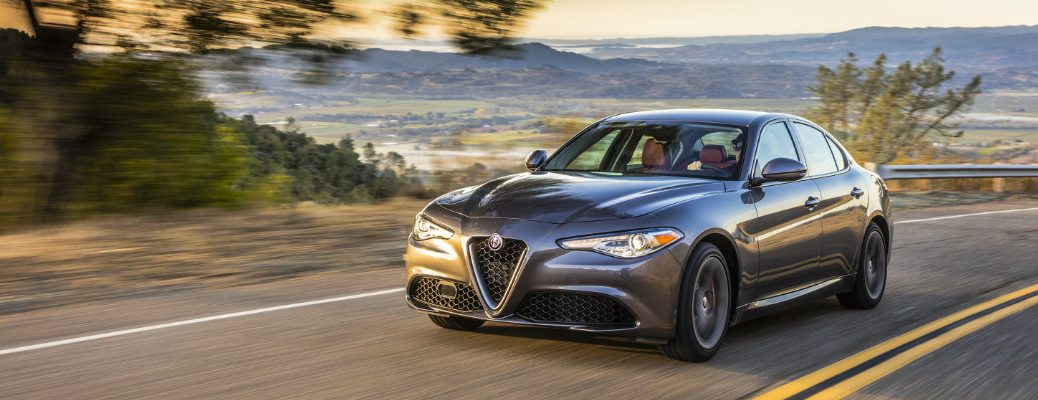 Alfa Romeo Giulia Base vs Ti Trim levels