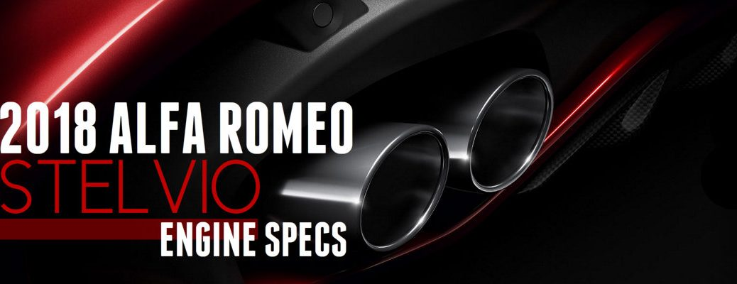 2018 Alfa Romeo Stelvio Engine Performance