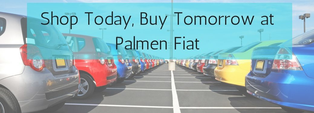 Shop Today, Buy Tomorrow at Palmen Fiat
