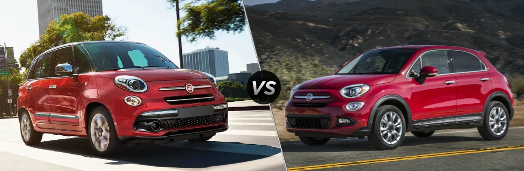 What is the Difference Between the Fiat 500L and the Fiat 500X?
