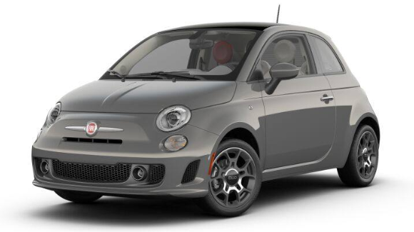 2019 Fiat 500 Pop Colosseo Gray Clear-Coat
