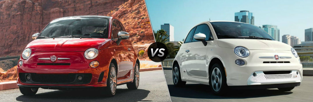 What are the Differences Between the 2019 Fiat 500 and 500e?