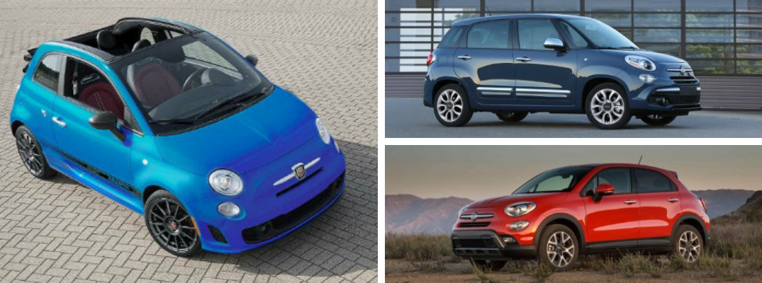 What are the Differences Between the 2019 Fiat 500, 500L, and 500X?