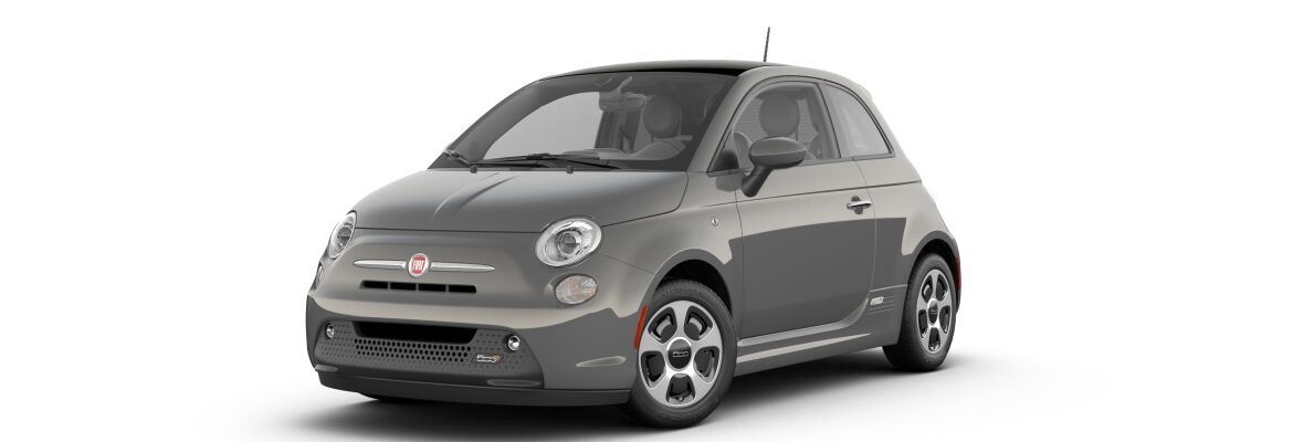 2019 Fiat 500e Colosseo Gray Clear-Coat