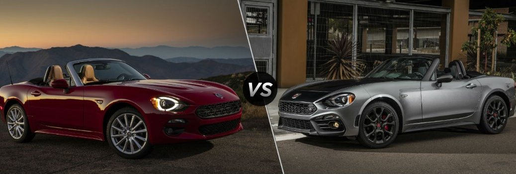 2019 Fiat 124 Spider Lusso vs 2019 Fiat 124 Spider Abarth