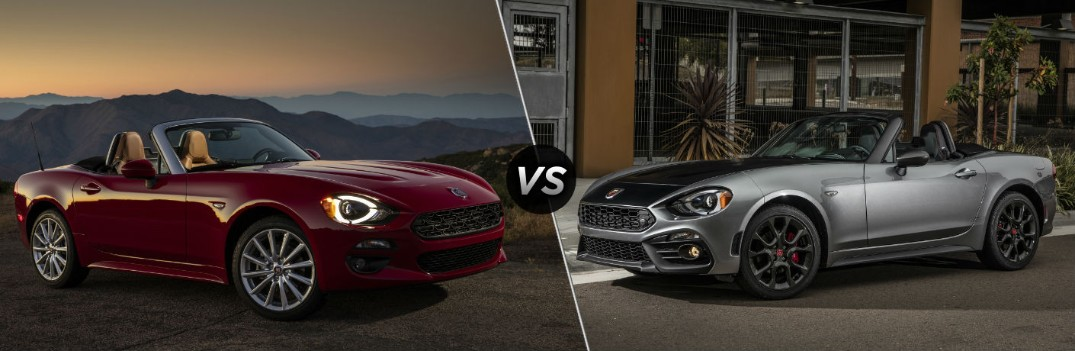 What are the Differences Between the 2019 Fiat 124 Spider and 124 Spider Abarth?
