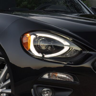 Image of the front headlights for the Visibility Group Package