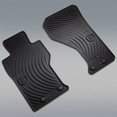 Image of two floor mats for the All-Weather Group by Mopar® Package