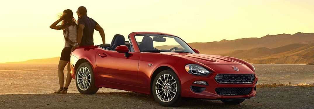 What are the Seating Options of the 2020 Fiat 124 Spider?
