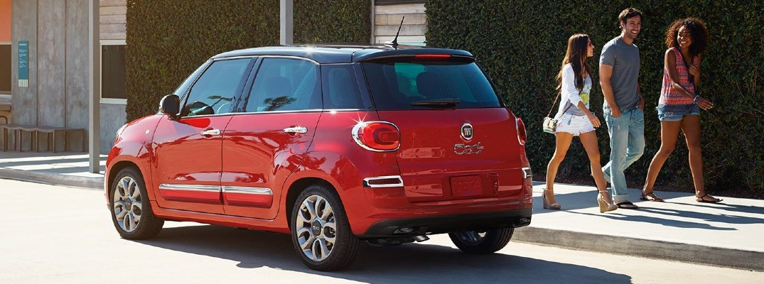 What are the Available Add-On Packages of the 2020 Fiat 500L?