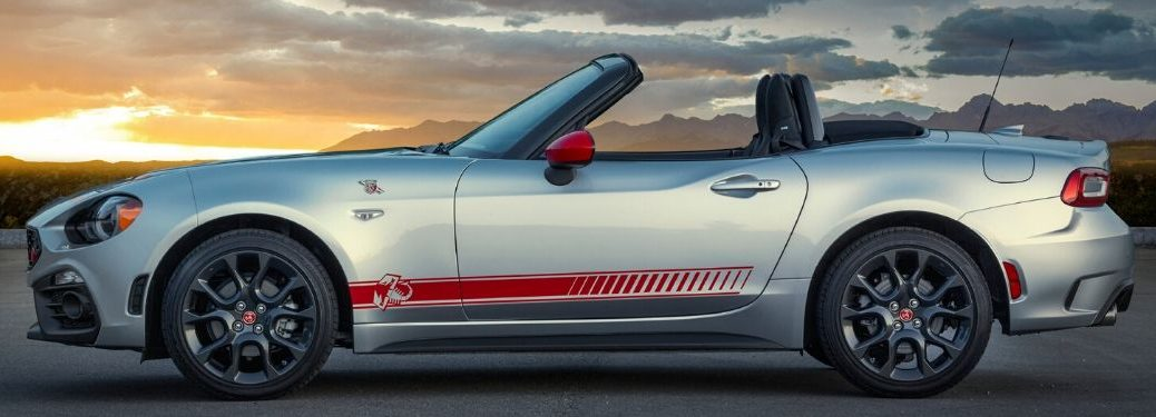 2020 Fiat 124 Spider Abarth from exterior drivers side