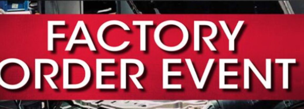 Factory Order Event Banner