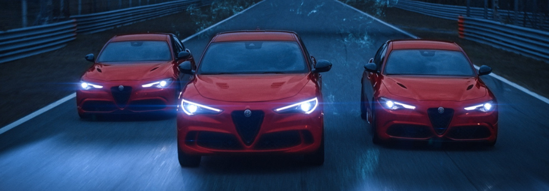 Which Alfa Romeo vehicle has the most horsepower?