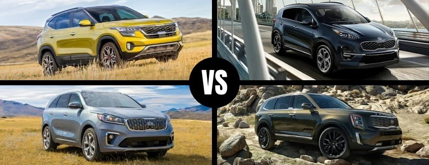 How Does the 2021 Kia Seltos Compare to the Other Kia SUV Models?