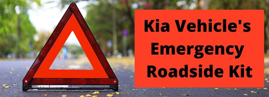 Kia Vehicle's Emergency Roadside Kit banner
