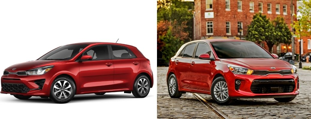 What are the Differences Between the 2021 and 2020 Kia Rio 5-Door?