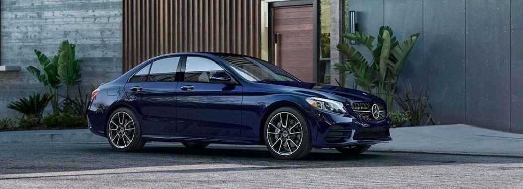 Exterior view of 2020 Mercedes-Benz C-Class from exterior passenger side