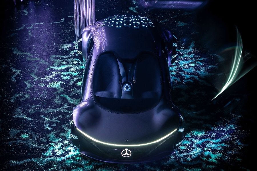 Mercedes-Benz VISION AVTR from above