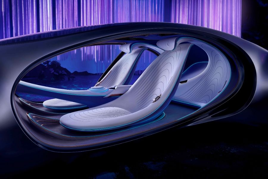 Mercedes-Benz VISION AVTR from exterior drivers side