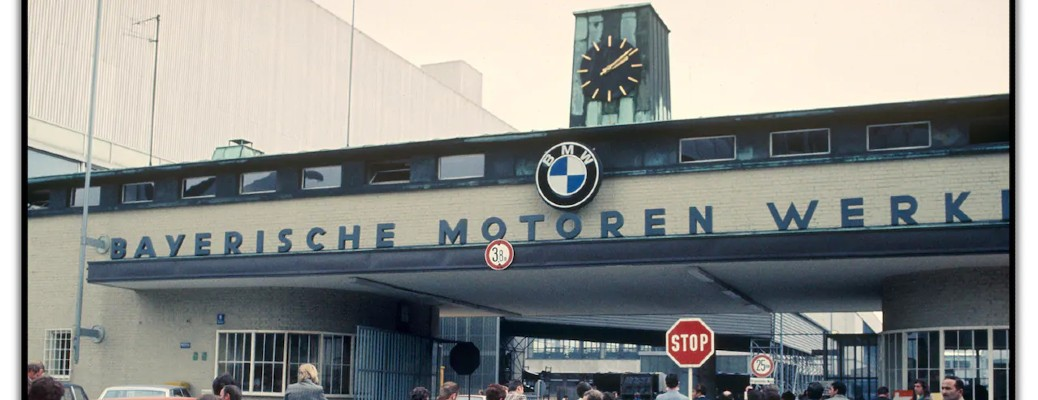BMW sign in Germany