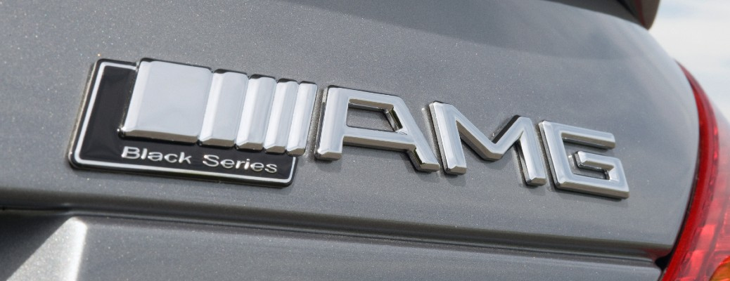 Mercedes-Benz AMG black series badging