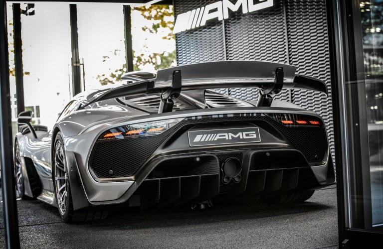 Mercedes-Benz AMG ONE hypercar rear view