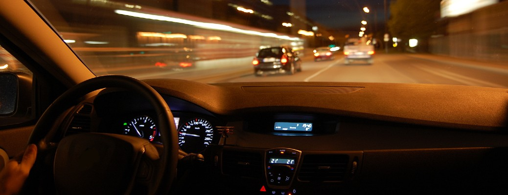 Tips for driving your vehicle at night