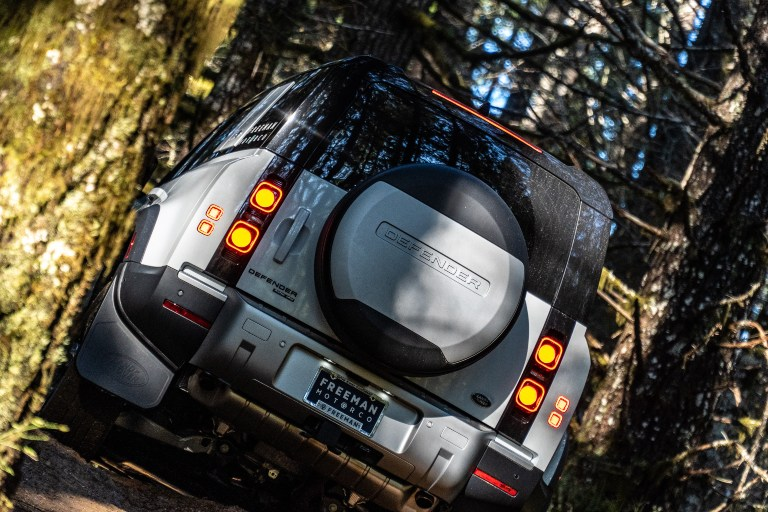 New Land Rover Defender back view