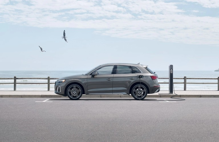 side view of the 2021 Audi Q5