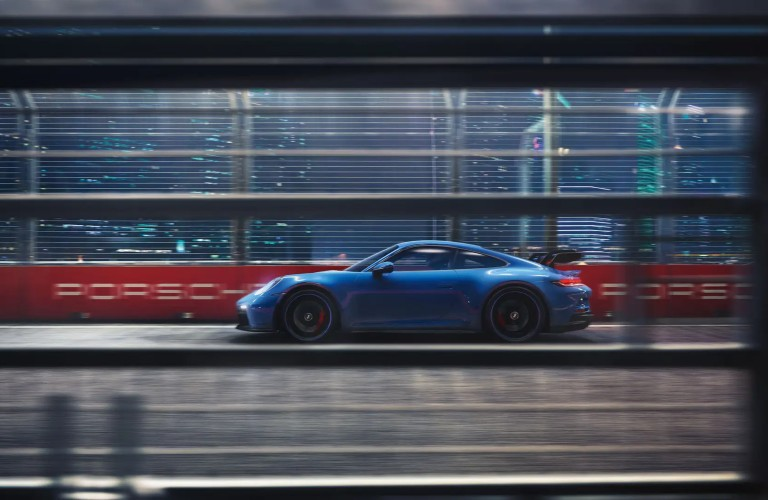 side view of the 2022 Porsche 911 GT3