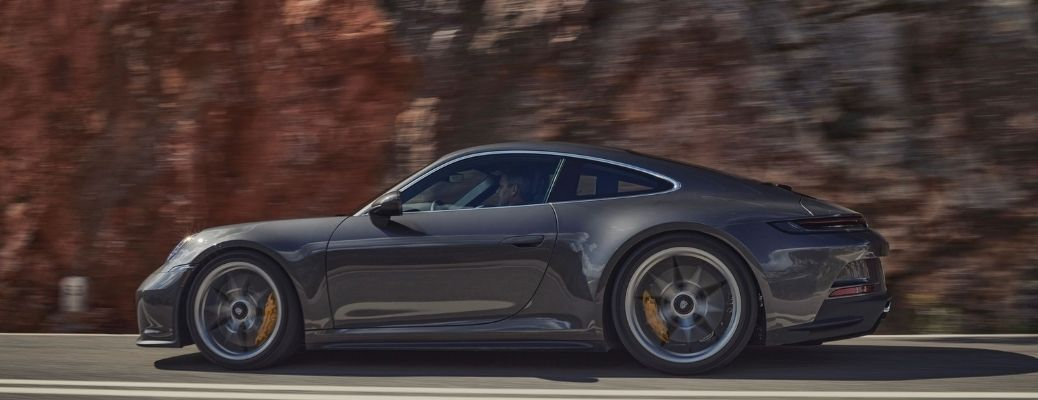 2022 Porsche 911 GT3 with Touring Package exterior side view