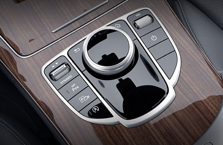 Central controller of the 2021 Mercedes Benz C-Class