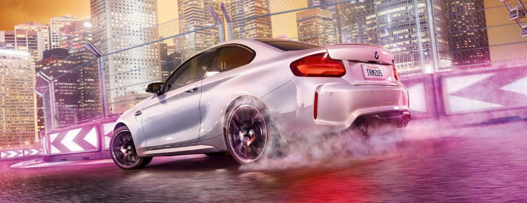 2020 BMW M2 on a racetrack