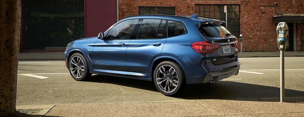 2020 BMW X3 parked on the road