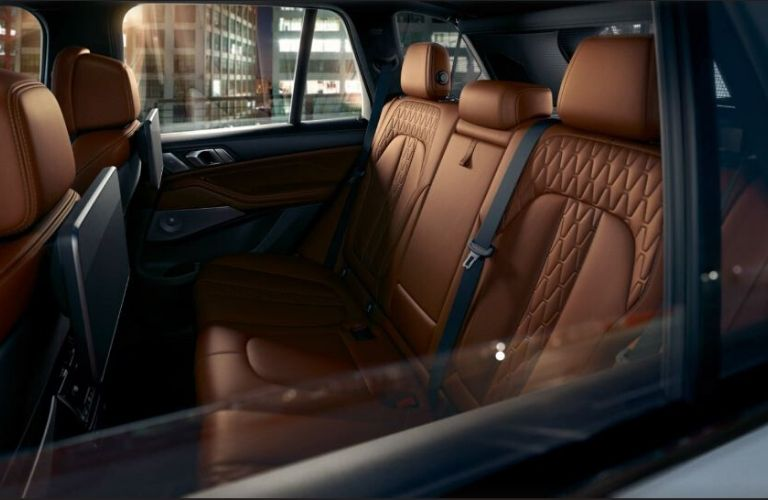 2020 BMW X5 interior seat view