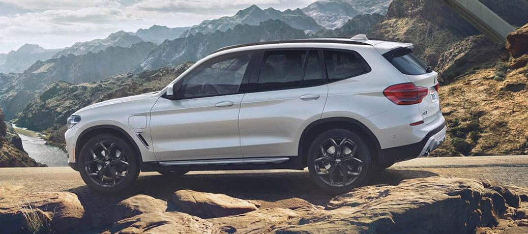 Silver Used BMW X2 from left view