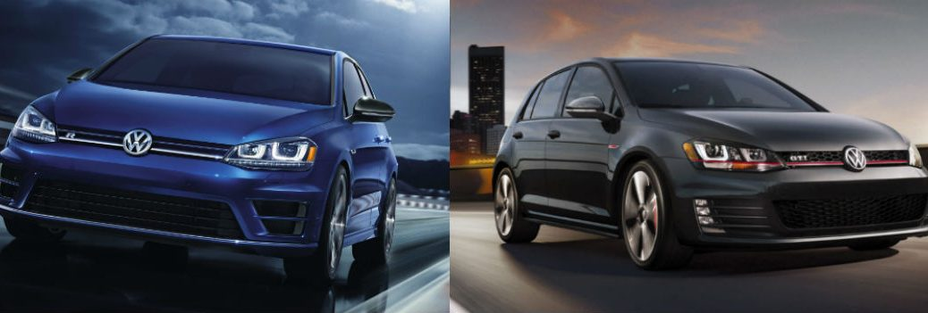 Differences Between the 2015 Volkswagen Golf R and the 2015 Volkswagen Golf GTI at Vic Bailey Volskwagen-Spartanburg SC-New VW Golf