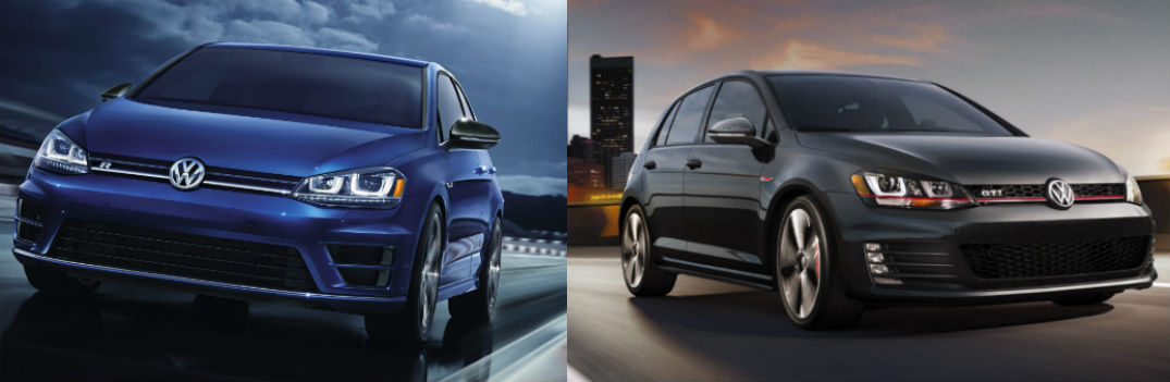 Differences Between the 2015 Volkswagen Golf R and the 2015