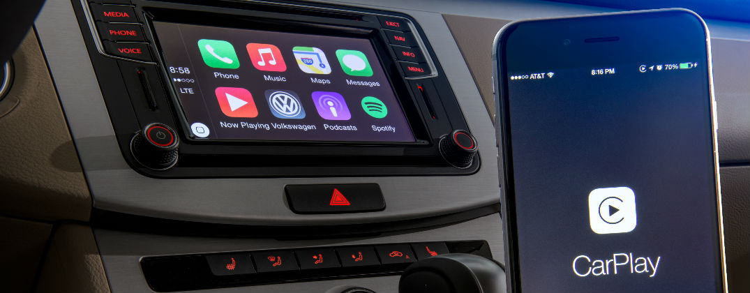 Volkswagen Car-Net Adds Apple CarPlay Android Auto and