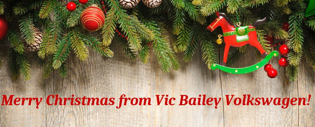 2015 Christmas Events Spartanburg SC at Vic Bailey Volkswagen-Holidays and Community Information-Merry Christmas Banner