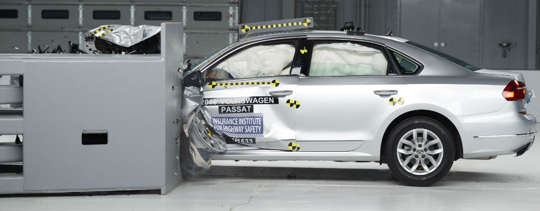 Iihs Safety Ratings >> 2016 Vw Passat Achieves Iihs Top Safety Pick Rating