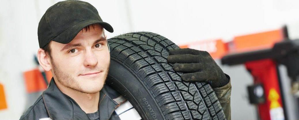 How to Check Tire Wear on Your Volkswagen at Vic Bailey Volkswagen-Spartanburg SC-Repairman with New Tires for Your Volkswagen