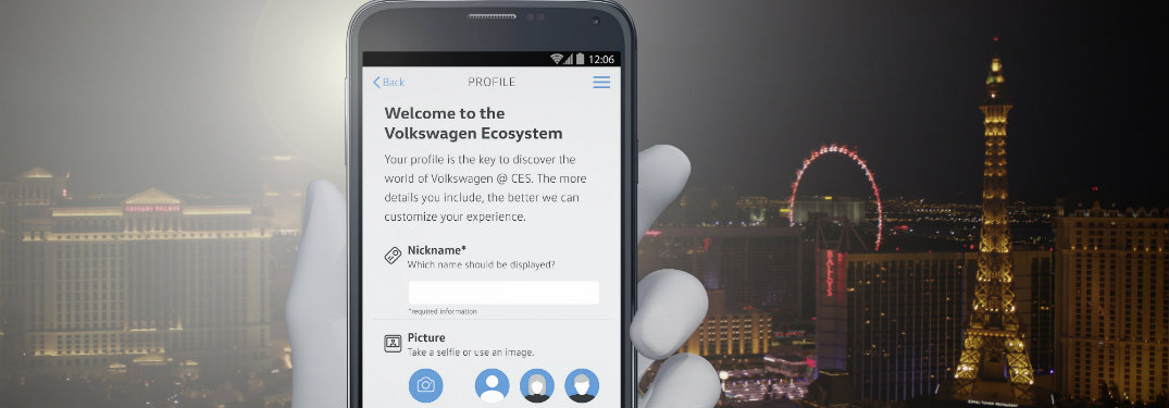 VW releases a new app for CES 2017