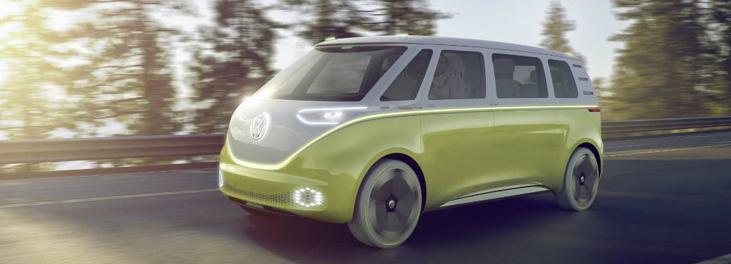 VW I.D. Buzz North American International Auto Show 2017