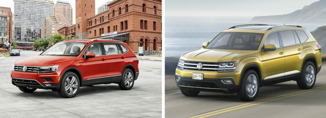 Difference between new Tiguan and VW Atlas