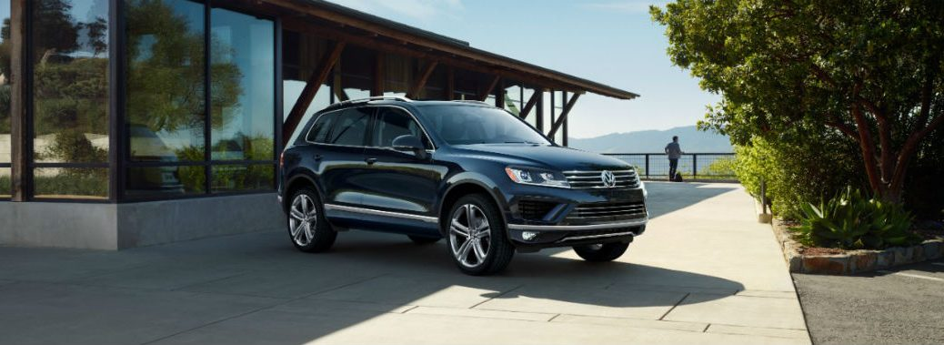 2017 Volkswagen Touareg features and options