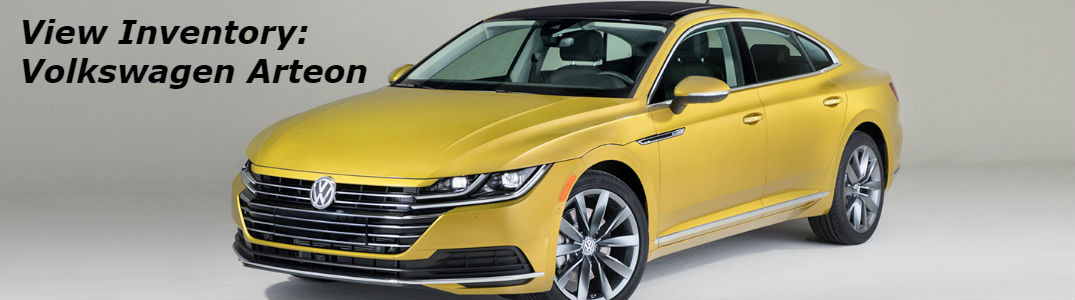 2019 Volkswagen Arteon front and side profile