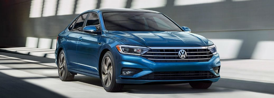 2019 Volkswagen Jetta driving on a road