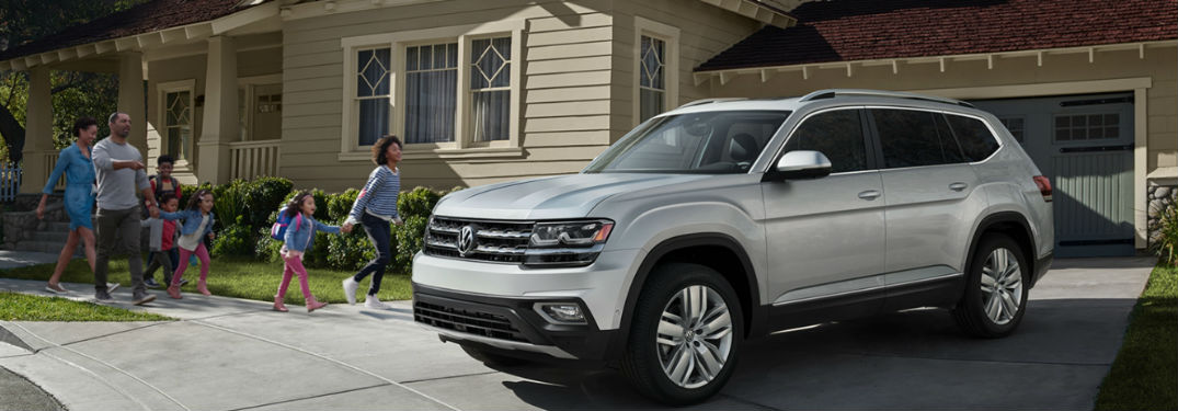 What is the Safety Rating of the 2019 Volkswagen Atlas?