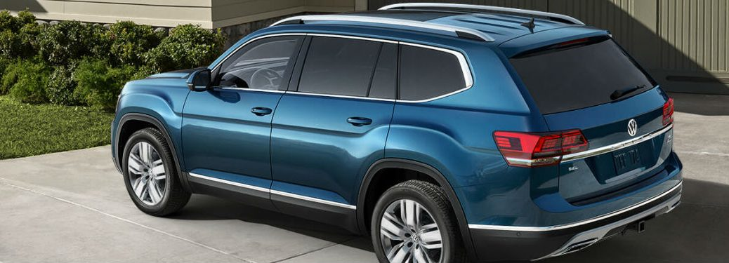 2019 Volkswagen Atlas side and rear profile